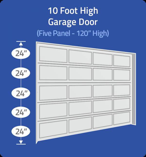 10 foot door
