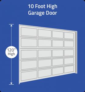 Choose 10 foot door