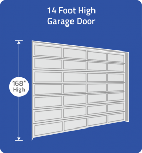 Choose 14 foot door