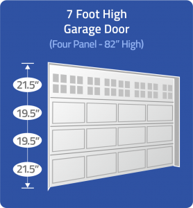 "ThermoTraks for 7 ft (82"") Doors"